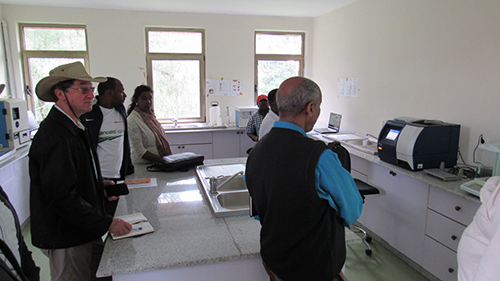 Assessment team on-site visit