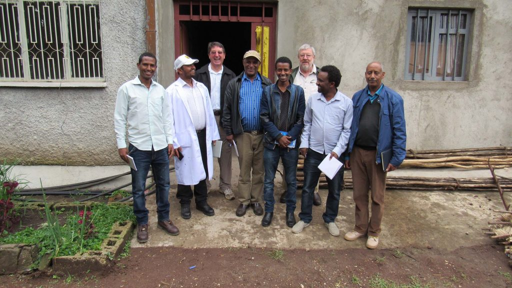 BPAT team meet the EIAR Chickpea breeding team