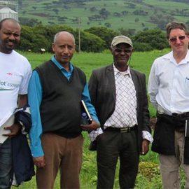 BPAT team in Kulumsa, Ethiopia