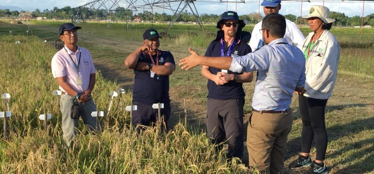IRRI welcomes BPAT team