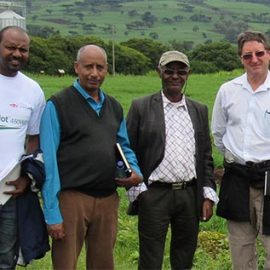 BPAT team in Kulumsa, Ethiopia